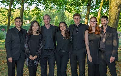 A selection of Juilliard415 members
