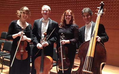At Alice Tully Hall, New York, with the Australians of Trinity Baroque
