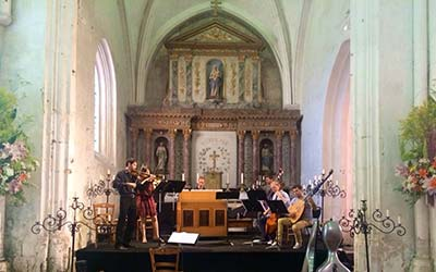 Concert in Thire, France 2016