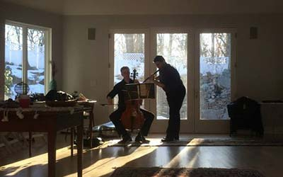 Flute Cello duo in Connecticut